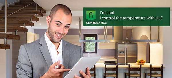 ClimateControl. I'm cool. I control the temperature with ULE.
